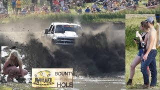 $$$ BOUNTY HOLE Mega Trucks At Mud Madness 4x4 Mud Bog