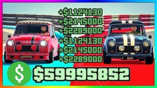 How To Make Most MONEY SOLO In GTA 5 Online New Races | NEW Best Unlimited Money Guide/Method 1.43
