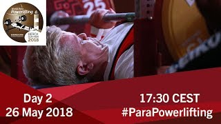 Women's Up to 61kg | World Para Powerlifting European Open Championships | Kholo.pk