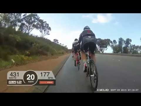 Fly12 with Strava Overlay