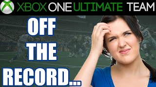Madden 15 - Madden 15 Ultimate Team - OFF THE RECORD? | MUT 15 Xbox One Gameplay