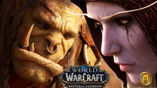 Sylvanas vs. Saurfang Cinematic [ALL Cutscenes] - 8.2.5 WoW BFA: War Campaign Finale
