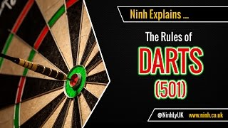 The Rules of Darts (501) - EXPLAINED!
