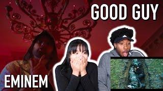 THE MOST INTENSE FIGHT!!   EMINEM - GOOD GUY FT. JESSIE REYEZ   REACTION