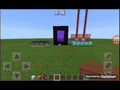 Cara membuat:Portal naga,Portal neraka dan leser