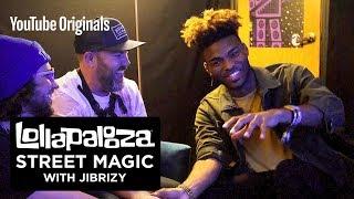 Lollapalooza Street Magic with JIBRIZY feat. Charlesthefirst