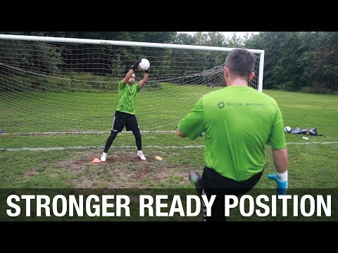 Goalkeeper Handling with a Wide Ready Position