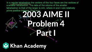 2003 AIME II Problem 4 (part 1)