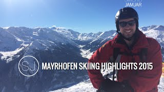 preview picture of video 'MAYRHOFEN SKIING HIGHLIGHTS - GOPRO - 2015'