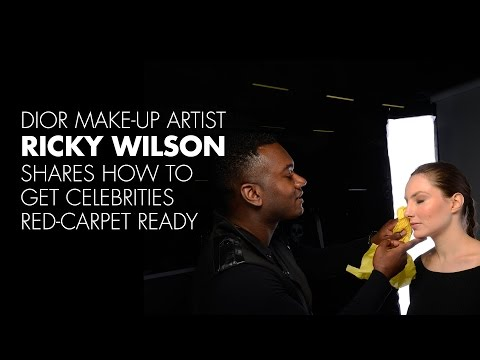 Dior Make-up Artist Ricky Wilson Shares How to Get Celebrities Red-Carpet Ready Live@IMATS