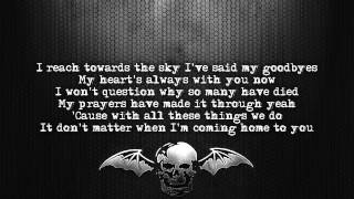 Avenged Sevenfold - Gunslinger [Lyrics on screen] [Full HD]