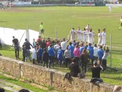 Preview video Atletico Piombino - Cecina 4-1 - raddoppio di Papa