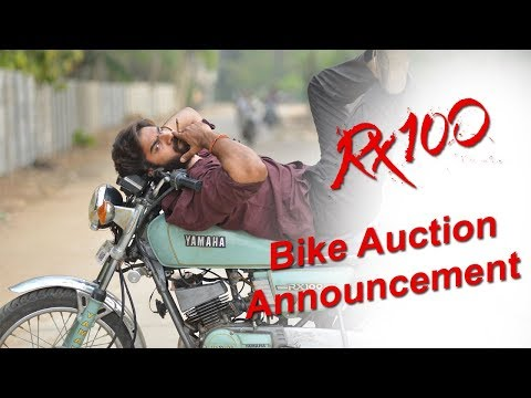 Karthikeya Gummakonda About RX 100 Bike Auction