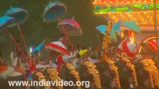 The eight-day long Uthralikkavu Pooram