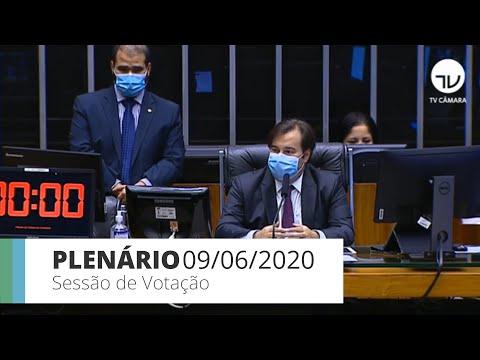 Plenário - Discussão e votação de propostas - 09/06/20 - 14:17