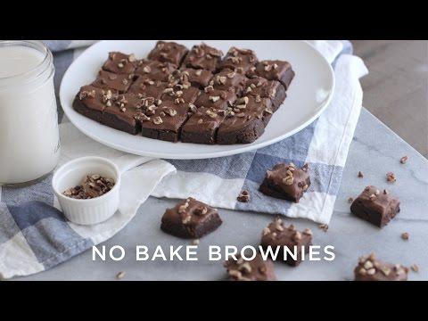 Video No Bake Brownies | Vegan + Gluten-Free!