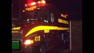 preview picture of video 'Incendio de fábrica en Villa Rosa'