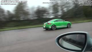 Audi TT RS 450 HP vs BMW M5 Supersprint