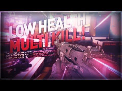 MULTI KILL MET LOW HEALTH! (COD: Black Ops 3 HG-40)