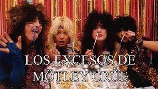 Los excesos de Mötley Crüe