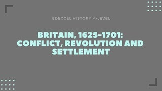 Britain, 1625-1701 - Theme 2 'Religion: conflict and dissent' 1/3