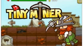 Tiny Miner iPhone 6S Gameplay Preview