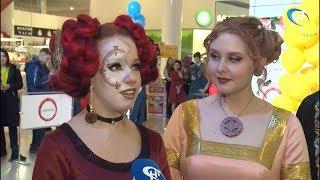 Будущие парикмахеры устроили в торговом центре «Мармелад» битву красоты