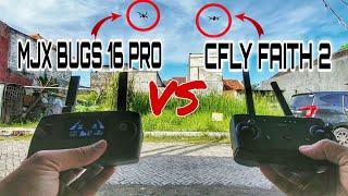 MJX Bugs 16 Pro vs Cfly Faith 2 Flight Time Test - FULL FLIGHT TEST VIDEO