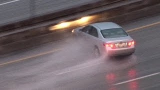 ULTIMATE Compilation of Car & Truck Slides / Spinouts in Bad Weather! High Quality Cameras