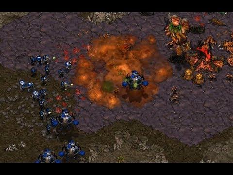 P - Hiya (T) v mgf (Z) on Fighting Spirit - StarCraft  - Brood War REMASTERED