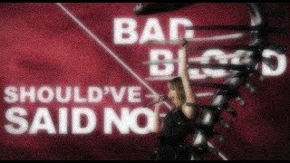 Bad Blood/Shoul've said no _ Reputation tour version