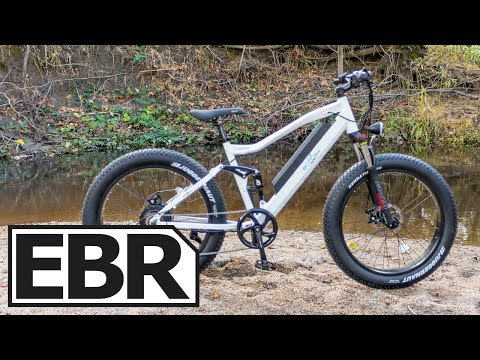 EccoBike Nashorn Video Review – $1.6k Full Suspension Fat Electric Bike, 750 Watt Hub Motor