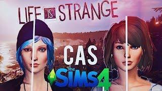 Life Is Strange CAS | The Sims 4 - Chloe Price & Max Caulfield