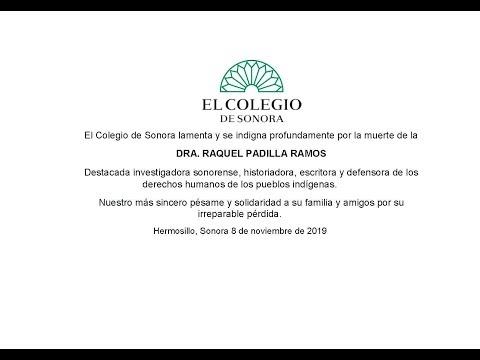 En memoria de la doctora Raquel Padilla Ramos