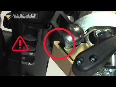 Click en Go koppeling vergrendelen en ontgrendelen van de SPINDER URBAN fietsendrager