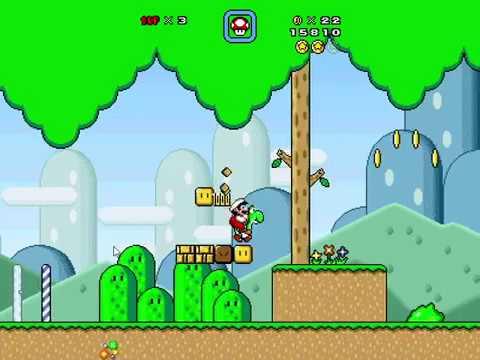 Super Mario Bros X 1 4 4 (SMBX 1 4 4) Ultra Mario - World 1