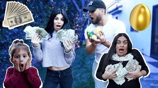 $1000 EGG HUNT!!! Who will win the most?!