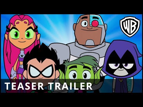 TEEN TITANS GO! TO THE MOVIES - Official Teaser Trailer - Warner Bros. UK