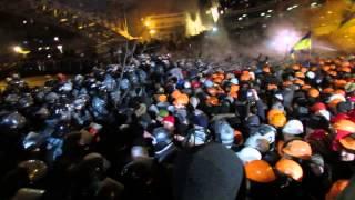 Самые жёсткие моменты с майдана 2013-2014 Штурм БТР