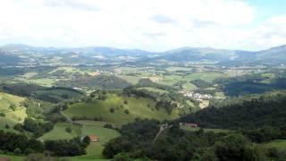 preview picture of video 'På pilgrimsvandring mot Orisson, Frankrike'