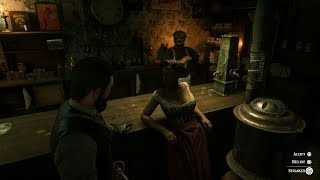 Red Dead Redemption 2 Accepting A Prostitute (Rockstar Trolling)