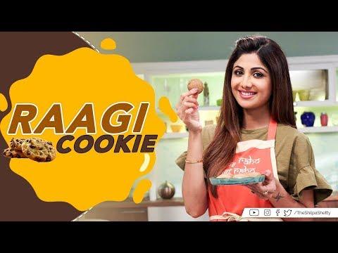 Raagi Cookies | Shilpa Shetty Kundra | Healthy Recipes | Nutralite