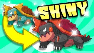 Drednaw  - (Pokémon) - SHINY POSSIBILITIES FOR DREDNAW, WOOLOO AND MORPEKO IN POKEMON SWORD/SHIELD!