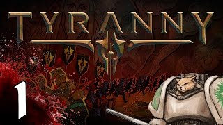 Tyranny PC cRPG - Character Creation - Part 1 Let