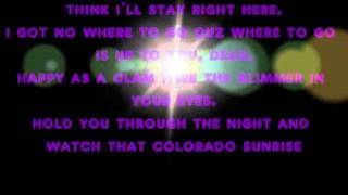 3oh!3 - Colorado Sunrise Lyrics