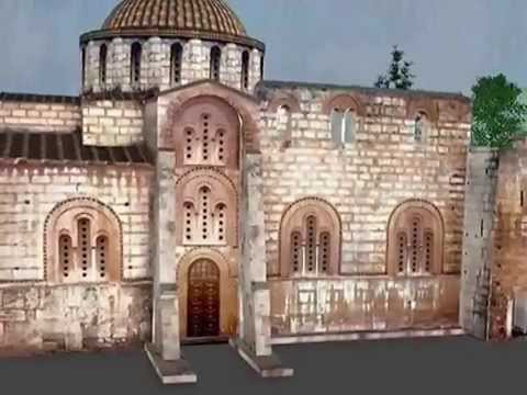 Dafni Monastery Virtual Visit