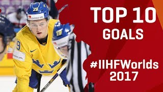 Top 10 Goals | #IIHFWorlds 2017