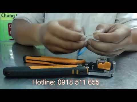 Kìm tuốt dây điện tự động Tramontina - Brazil 44051108