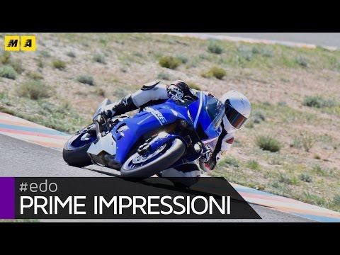Yamaha YZF R6 TEST Onboard Almeria [ENGLISH SUB]