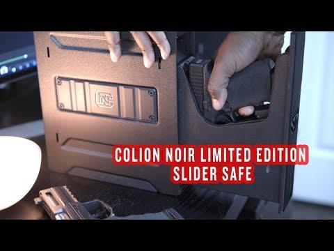 Colion Noir Limited Edition Slider Safe by Vaultek